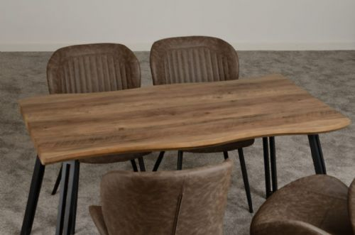 Ottawa Wave Edge Dining Set